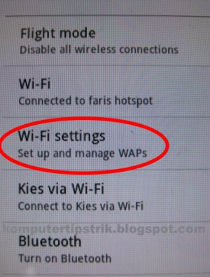 how to get ip address of wifi in android