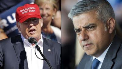 Donald Trump says new London mayor Sadiq Khan is exempt from Muslim US ban