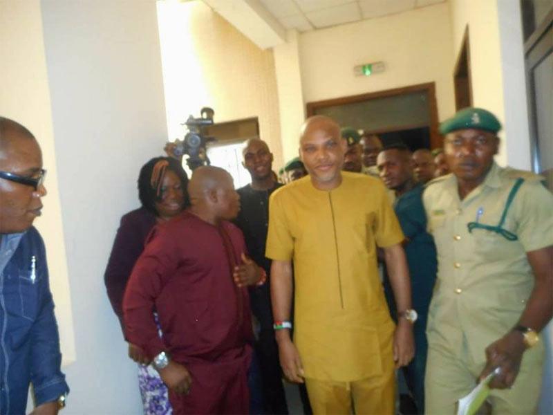 "Nnamdi Kanu explodes in court, slams Justice Binta saying ""Buhari can't intimidate me"""