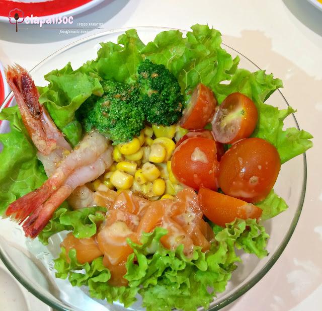 Genki Salad from Genki Sushi PH