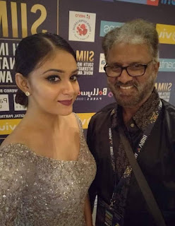 Keerthy Suresh with Cute Smile at SIIMA Awards