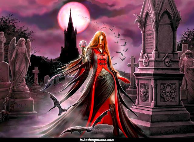 ver fotos de vampiros desenho wallpaper vampiras goticas vanpiros
