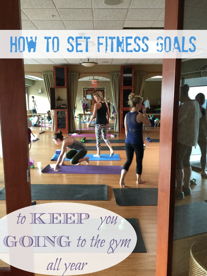Setting goals to beat the January gym time rush and stick with your fitness plan