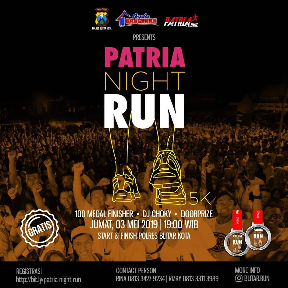 Patria Night Run • 2019