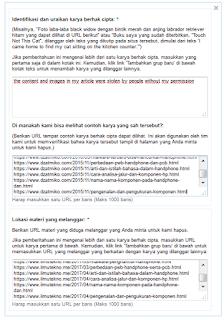 Cara Melaporkan Pencuri Artikel Blog ke Google DMCA