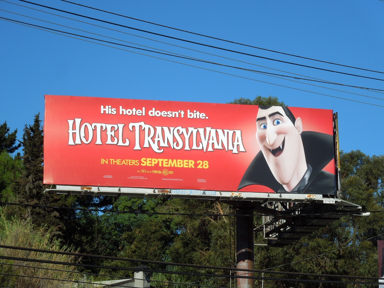 Daily billboard hotel transylvania movie billboards for Daily hotel