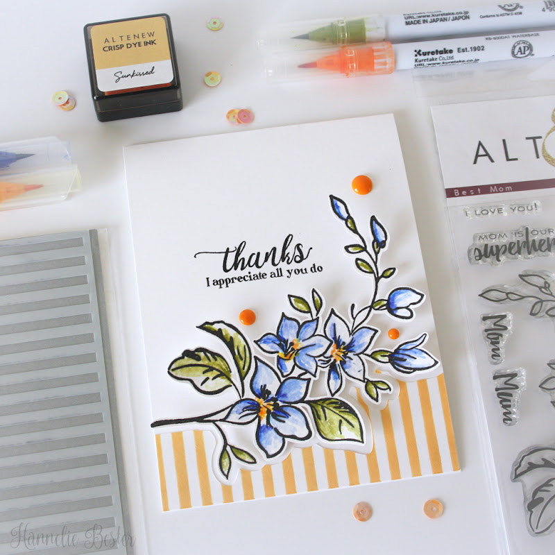 Altenew Best Mom stamp set