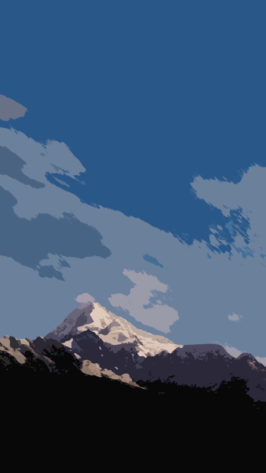 Popular   Wallpaper Home Screen Mountain - Flat-Mountain-Mobile-5  Photograph_173894.png