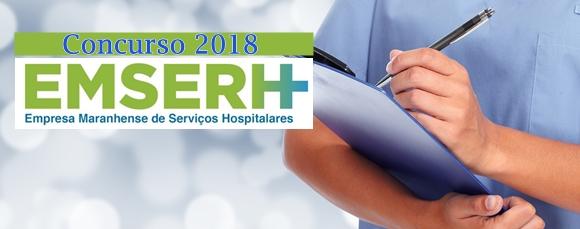 concurso da Emserh - Empresa Maranhense de Serviços Hospitalares MA