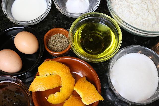 Ingredientes para piñonate