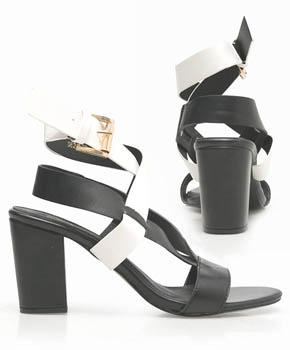 Model chunky high heels bergaya sandal yang nyaman