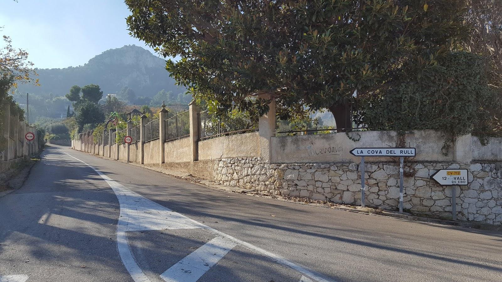 Junction of CV-712 and CV-715, Pego, Alicante, Spain