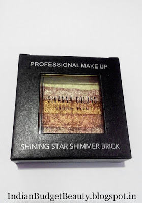 SIVANNA COLORS Shining Star Shimmer Bricks Review