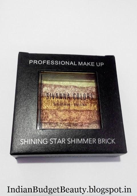 SIVANNA COLORS Shining Star Shimmer Bricks Review