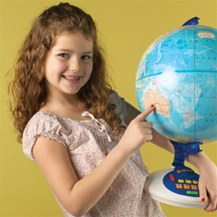 GeoSafari Talking Globe for children