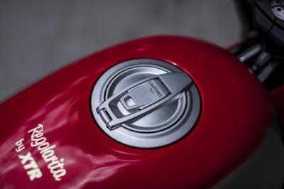 Ducati Scrambler Custom Fuel Tank