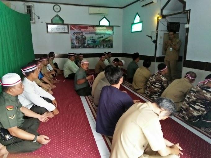 Jelang HUT TNI, Koramil 02/Beji dan Forkompimka Gelar Doa Bersama