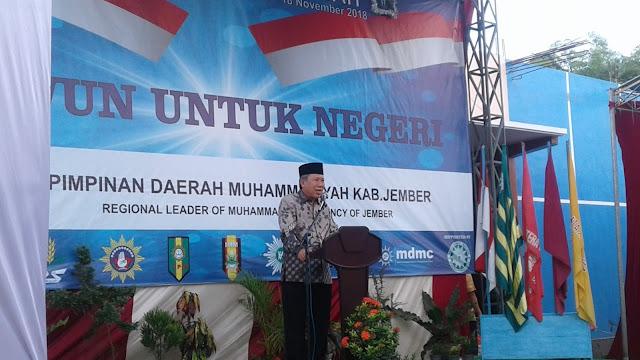 Meriahnya Resepsi Milad Muhammadiyah 106 di Cabang Cakru