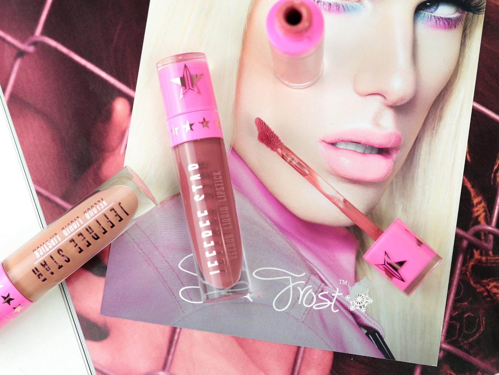 Les Velour Liquid Lipsticks de Jeffree Star Androgyny, Rose Matter, Mannequin revue et swatches