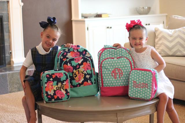Back to School Backpacks from Viv & Lou