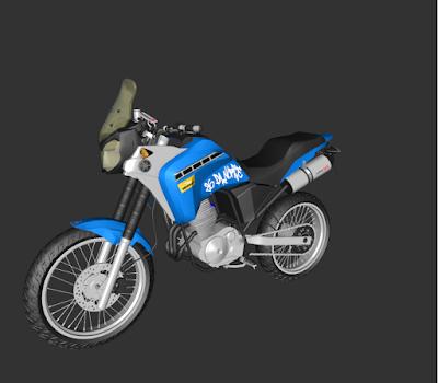 GTA SA - XTZ250 - 350F 1