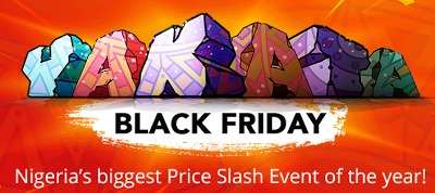 "Konga Yakata ""Black Friday"" Sales Begins Now"