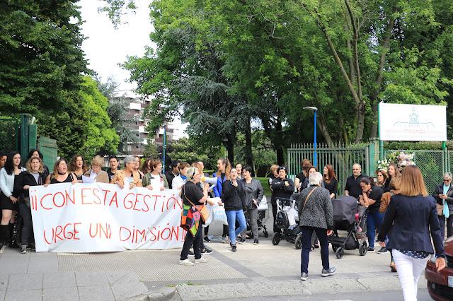protesta Fundación Miranda