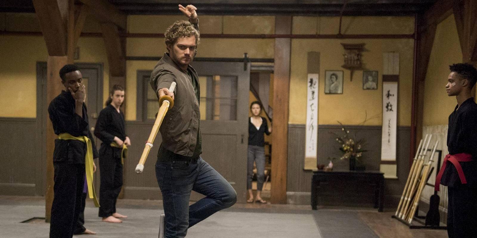 Danny Reed en la primera temporada de Marvel's Iron Fist de Netflix