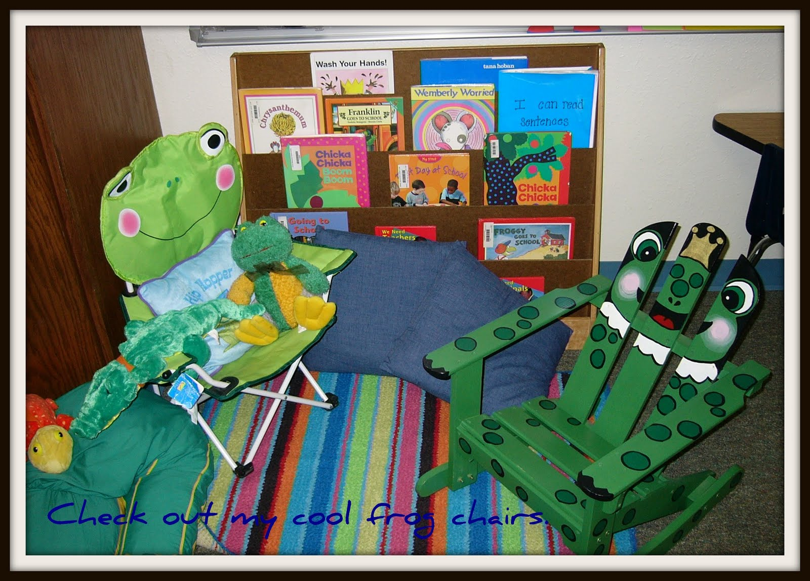 Krazy In Kindergarten Frog Classrooom Theme