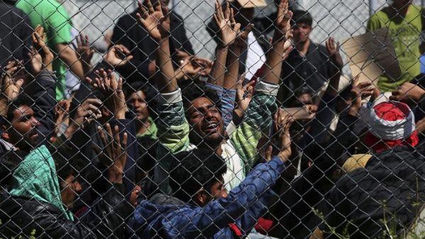 ONU denuncia situación crítica en centros de refugiados griegos