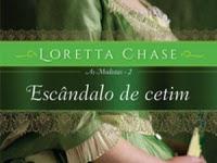 Resenha Escândalo de Cetim - As Modistas # 2 - Loretta Chase