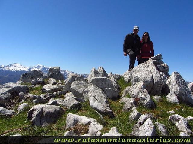 Cima del pico Champaza