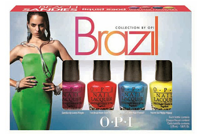 Collection Brazil by O.P.I. : Beach Sandies Liquid Sand