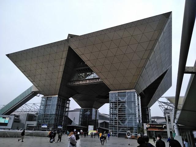東京モーターサイクルショーの写真