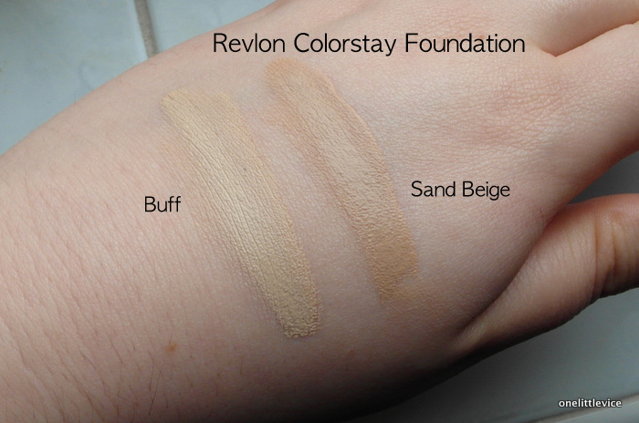 One Little Vice Beauty Blog: Revlon Colourstay Foundation Review