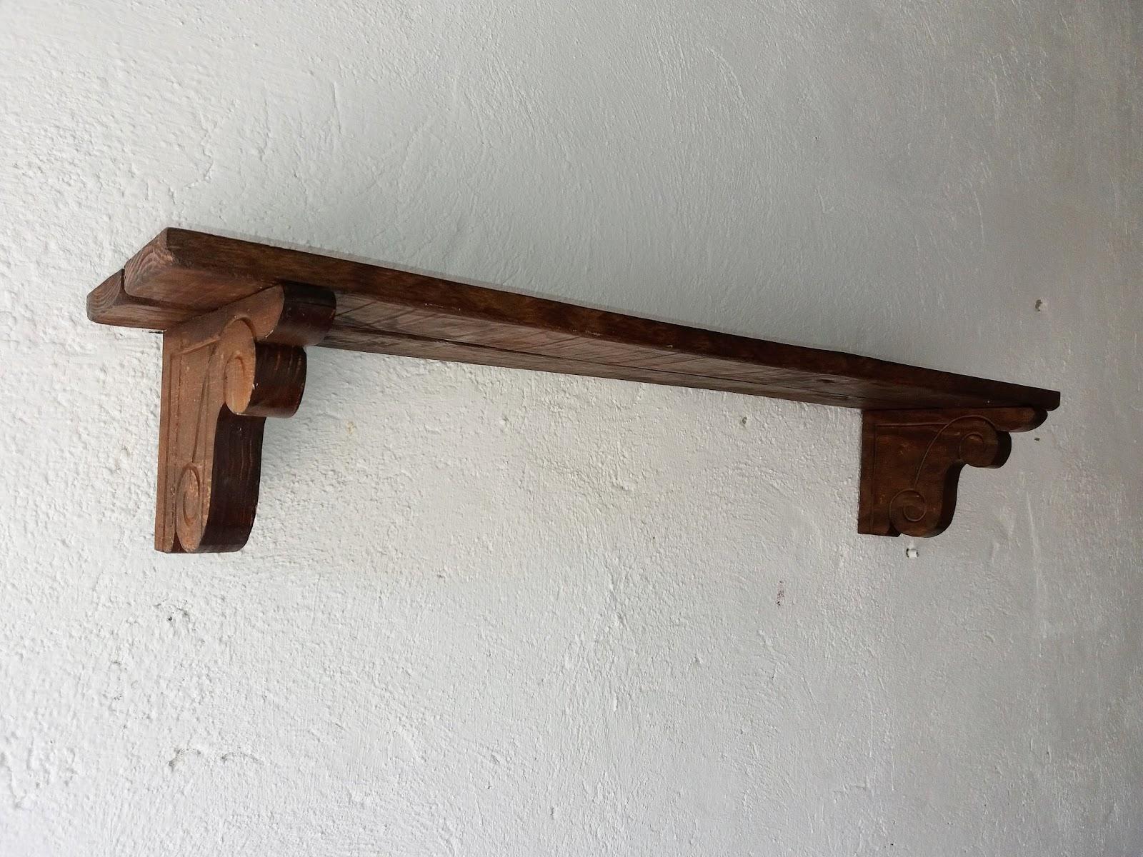 Artesan a r stica en madera baldas de madera - Baldas de madera ...