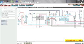 LEXUS IS250 wiring diagram