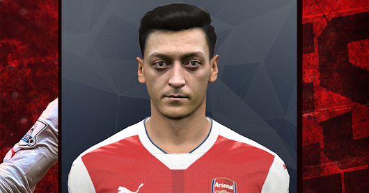 Face Mesut Ozil by Arifin