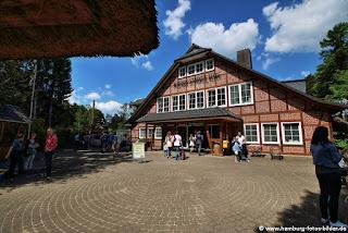 Wildpark Schwarze Berge, Eingang