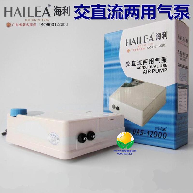 Máy sủi oxy 2 dòng điện Hailea UAS 12000
