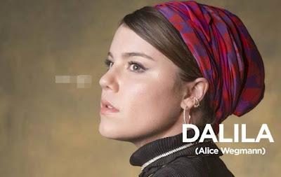 Alice Wegmann como Dalila em Órfãos da Terra