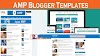 Amp blogger template 2019