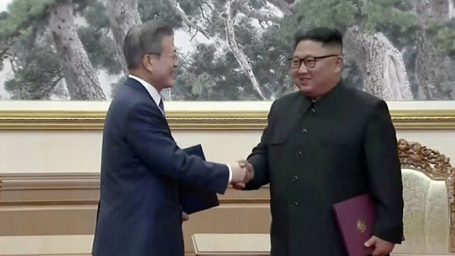 Conference between Kim and Moon