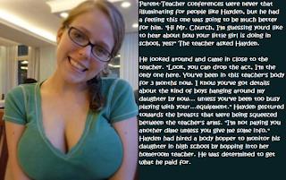 student teacher porn captions