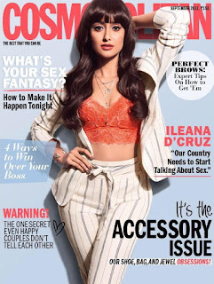 Ileana Cosmopolitan India magazine September 2017