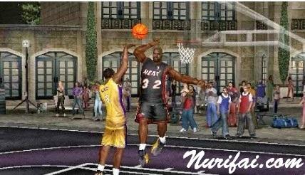 NBA Street Showdown PSP PPSSPP