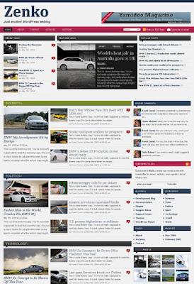 Zenko Magazine Wordpress Theme