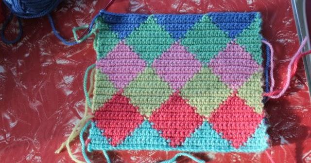 T cnica tapesky o jacquard en crochet crochet esquemas - Que es jacquard ...