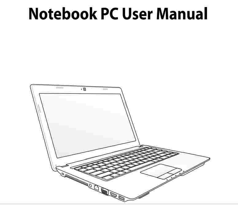 ASUS X54C USER MANUAL EBOOK