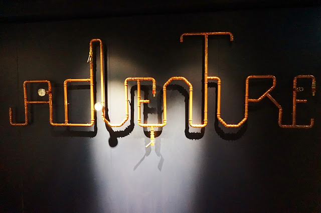 Copper Adventure Sign